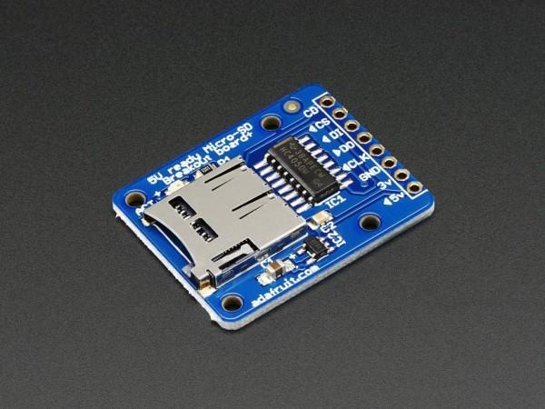 Adafruit MicroSD card breakout board+