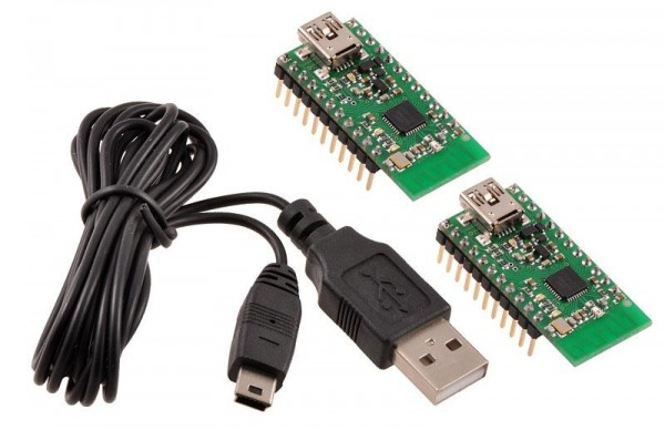 Pololu Wixel Pair (Fully Assembled) + USB Cable