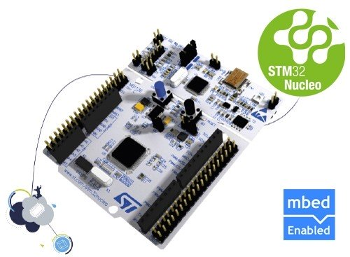 STM32 Nucleo development board for STM32 L1 series - with STM32L152RE MCU, supports Arduino
