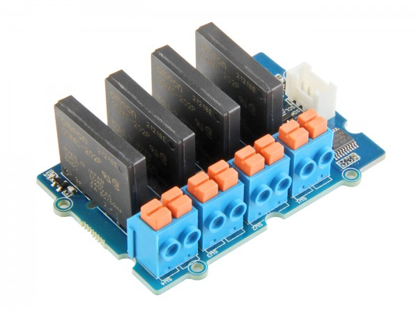 Seeed Studio Grove - 4-Channel Solid State Relay