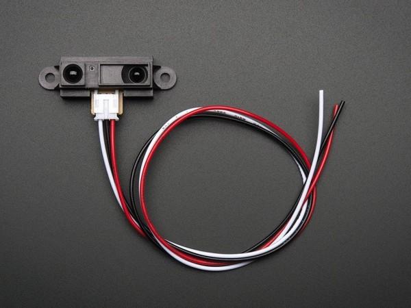 Sharp IR Entfernungssensor mit Kabel (10 cm - 80 cm) - GP2Y0A21YK0F