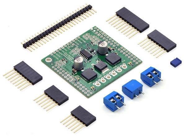 Pololu Dual MC33926 Motor Driver Shield for Arduino ...