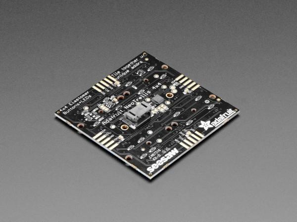 Adafruit NeoTrellis RGB Driver PCB for 4x4 Keypad | LED Controller