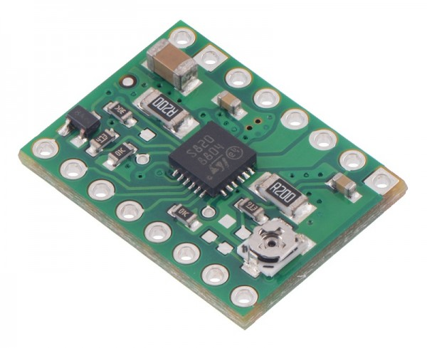 Pololu STSPIN820 Stepper Motor Driver Carrier