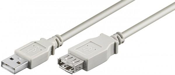 USB 2.0 Verlängerungskabel, USB St. A / USB Bu. A, 3,0m