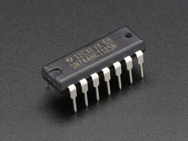 Texas Instruments 74AHCT125 Quad Level-Shifter (3V to 5V)