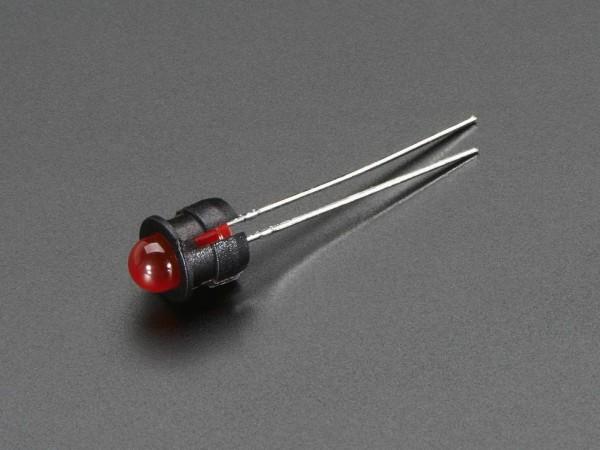 5mm Plastic Flat LED Holder - Pack of 5