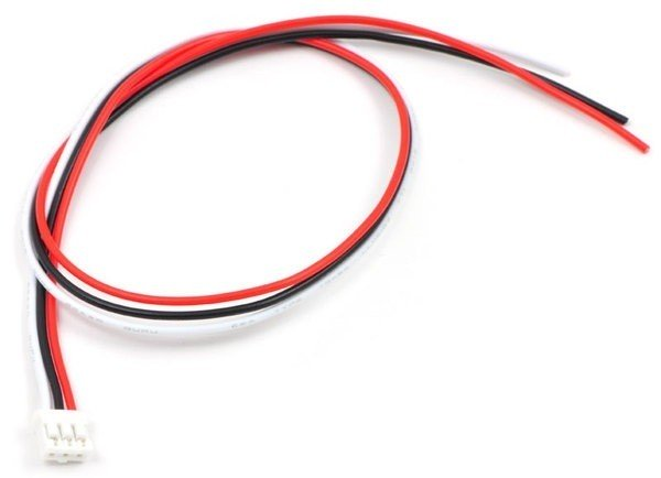 3-Pin Female JST PH-Style Cable for Sharp Distance Sensors (30cm)