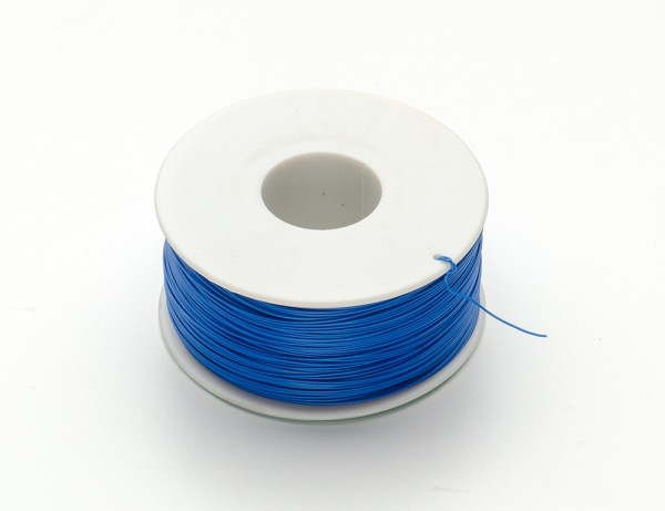 Wire Wrap Thin Prototyping & Repair Wire - 200m 30AWG Blue