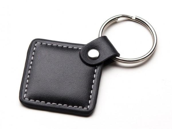 MIFARE® Classic 1K (13.56MHz RFID/NFC) Leather Keychain Fob - 1KB
