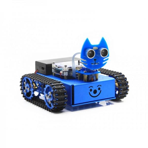 KitiBot Starter-Roboter mit grafischer Programmierung (Tracked Version)
