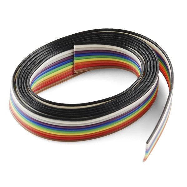 10 poliges Flachbandkabel 90cm