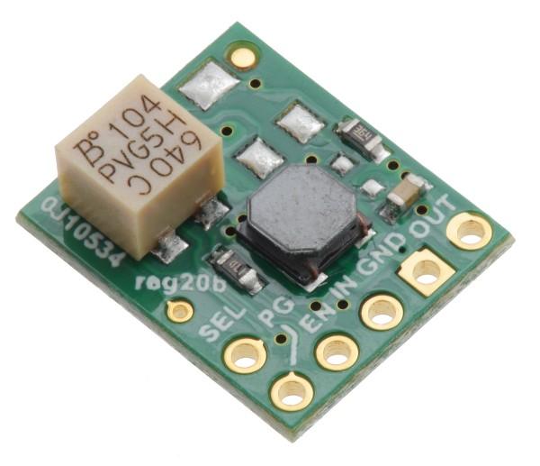 5V Step-Up/Step-Down Voltage Regulator w/ Adjustable Low-Voltage Cutoff S9V11F5S6CMA