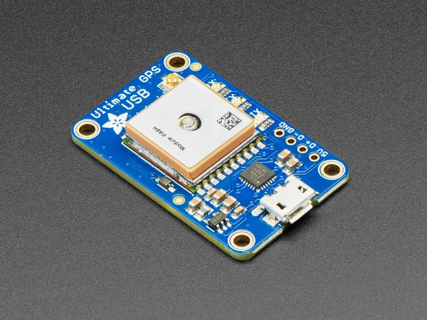 Adafruit Ultimate GPS with USB - 66 channel with 10 Hz updates