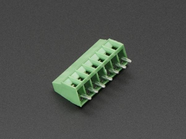 "2.54mm/0.1"" Pitch Terminal Block - 7-pin"