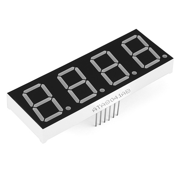 7-Segment Display - 20mm (Blau)