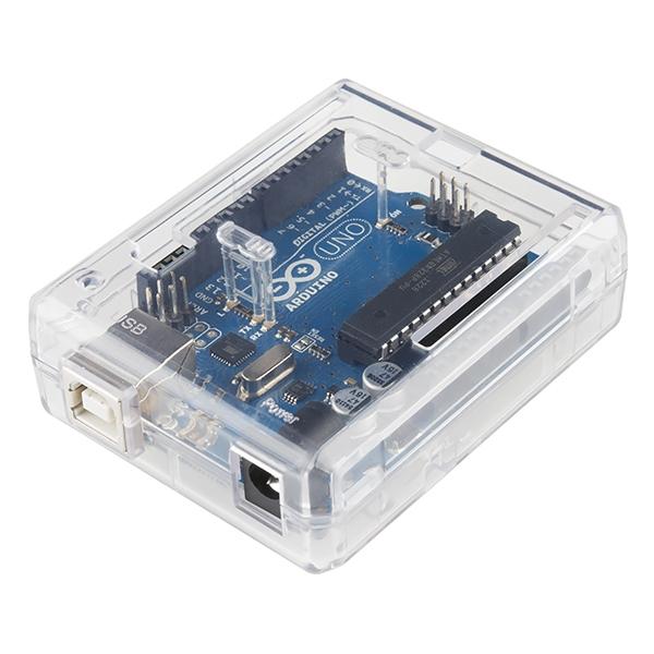 Arduino uno enclosure clear plastic gehäuse zubehör