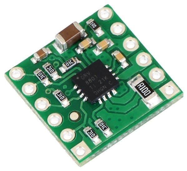 Pololu DRV8801 Single Brushed DC Motor Driver Carrier