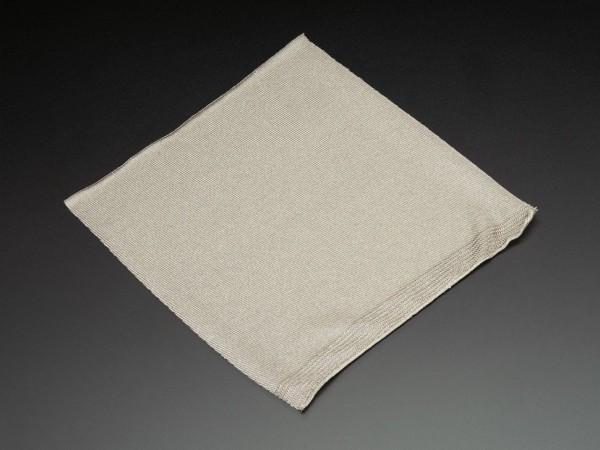 Leitfähiger Stoff - Silber (20 cm x 20 cm, gestrickt)