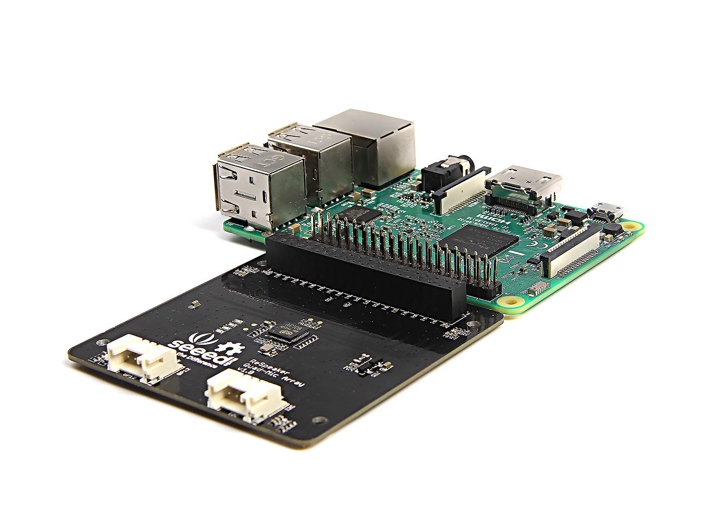 Seeed Studio ReSpeaker 4-Mic Array for Raspberry Pi