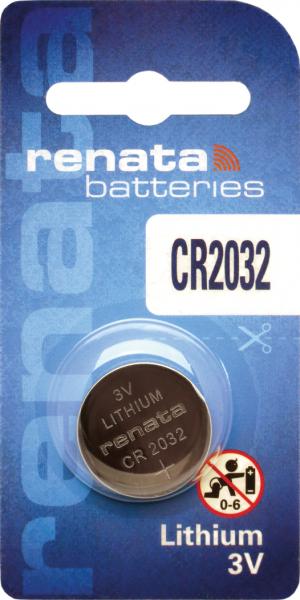 renata CR2032 3V Lithium Knopfzelle