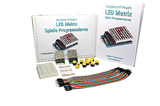LED Matrix und Spiele Programmieren Kit
