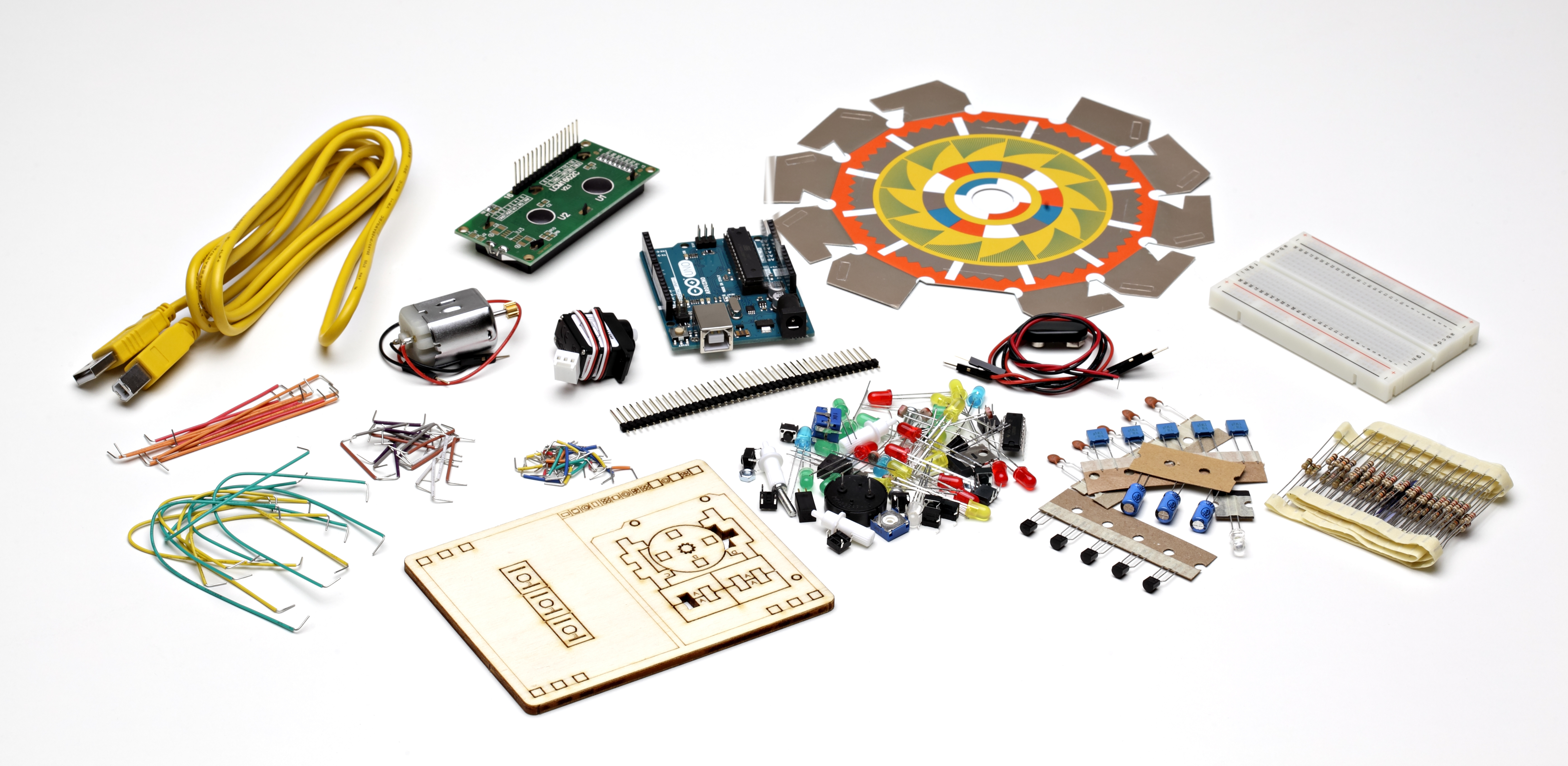 Arduino starter kit english version