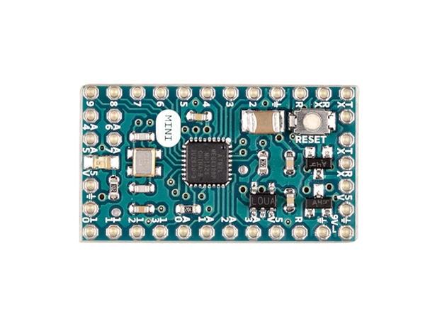 Arduino mini light ohne pin headers