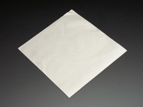 Leitfähiger Stoff - Silber (20 cm x 20 cm, gewebt)