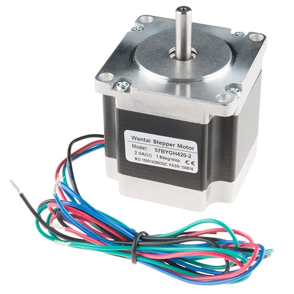 Stepper Motor - 200 Steps/Rev, 3.2V, 2A/Phase, NEMA 23