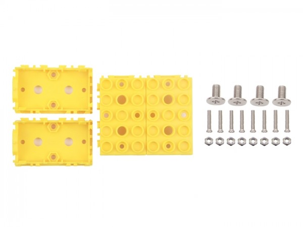 Seeed Studio Grove - Yellow Wrapper 1*2 (4 PCS pack)