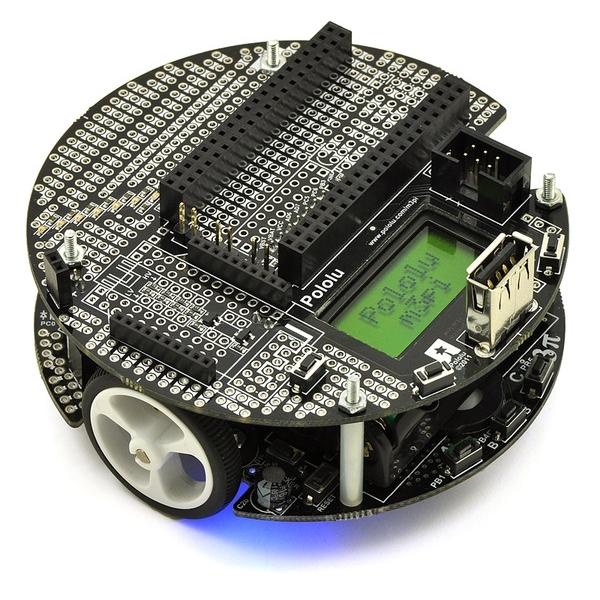 Pololu m3pi Roboter mit mbed Socket
