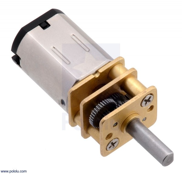 150:1 Micro Metal Gearmotor MP 6V