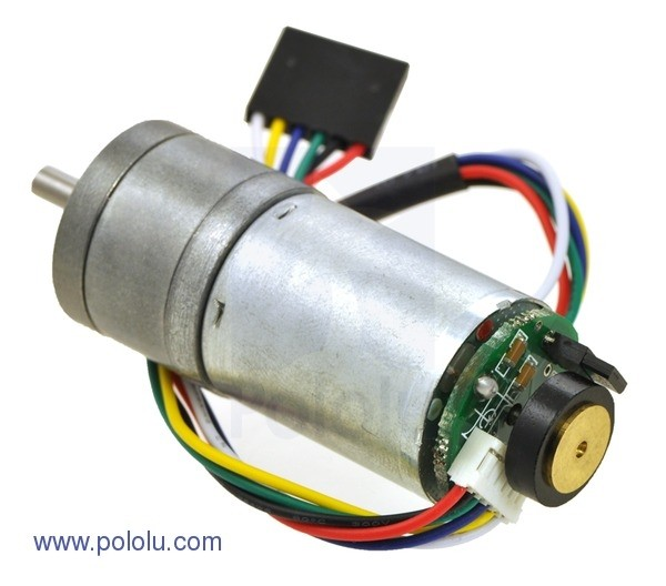 172:1 Metal Gearmotor 25Dx56L mm with 48 CPR Encoder