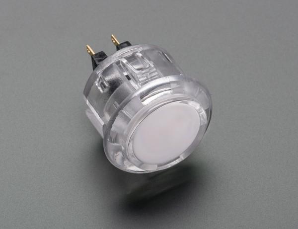 Arcade Button - 30mm Translucent Transparent