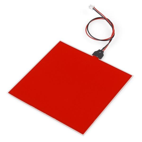EL Panel - Rot (10x10cm)