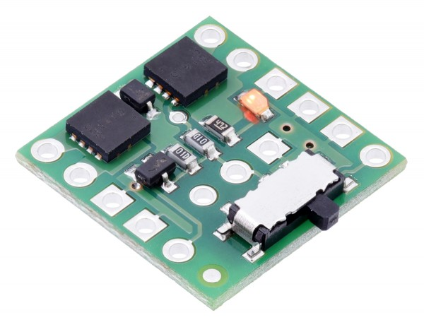 Pololu Mini MOSFET Slide Switch with Reverse Voltage Protection, LV