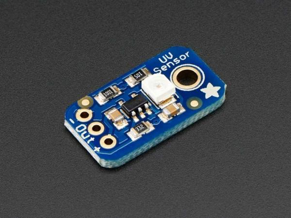 Adafruit Analog UV Light Sensor Breakout - GUVA-S12SD