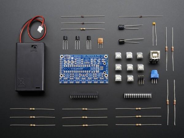 Adafruit MiniPOV 4 Kit - DIY Full-Color POV and Light Painting Kit - v4.0