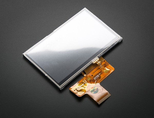 """4.3"""" 40-pin TFT Display - 480x272 with Touchscreen"""