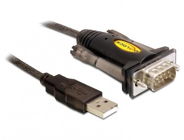 Delock Adapterkabel USB auf D-Sub9 seriell 1,5m