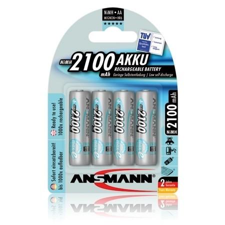 ANSMANN maxE NiMH-Akku Mignon AA 2100mAh (4er Pack)
