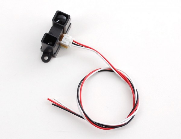 Sharp IR distance sensor includes cable (20cm-150cm) - GP2Y0A02YK0F