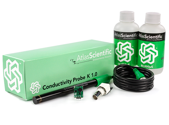 Conductivity Kit K=1.0 (Probe + Schaltung + Kalibrierungslösung)