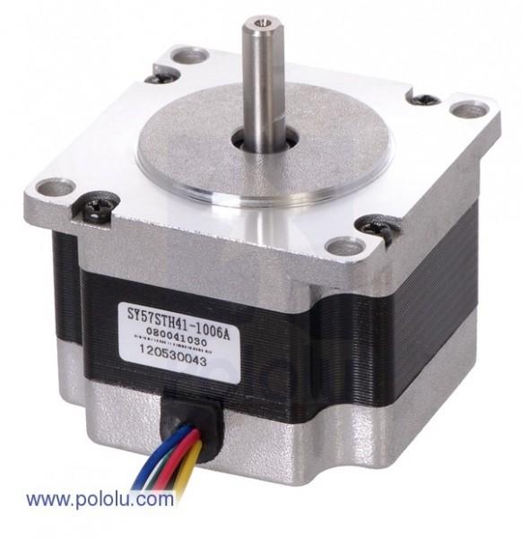 Stepper Motor: Unipolar/Bipolar, 200 Steps/Rev, 57x41mm, 5.7V, 1 A/Phase