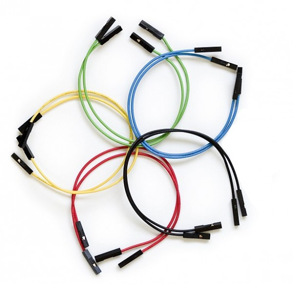 Jumper Wires Premium 150 mm F/F (10er Pack)