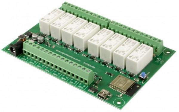 ESP32LR88 - WiFi Relais (8 x 16 A)