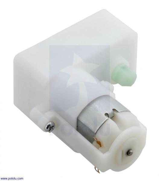 120:1 Plastic Gearmotor, Offset Output