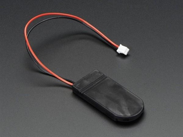 Knopfzellen-Batteriehalter (2x CR2032) mit 6 V Ausgang und Ein- und Ausschalter