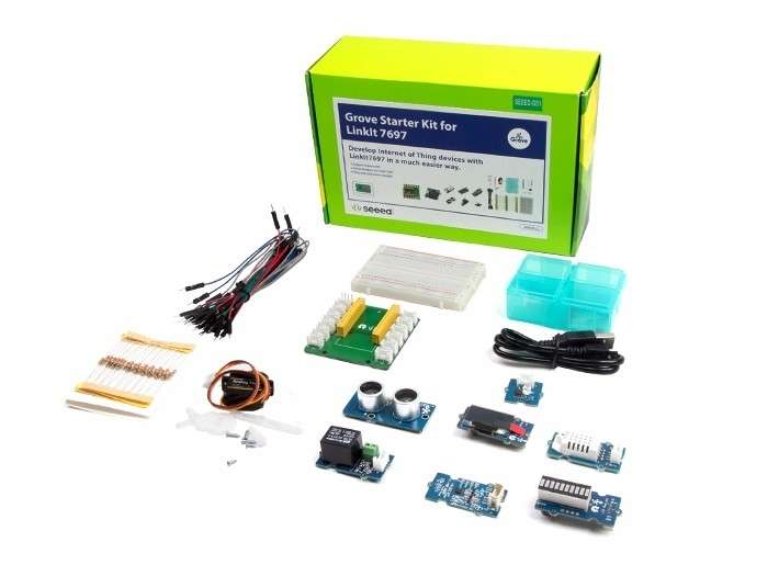 Laser Entfernungsmesser Zolltarifnummer : Seeed studio grove starter kit für linkit 7697 system